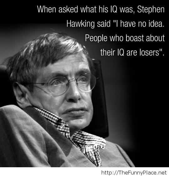 Stephen Hawking clever quote