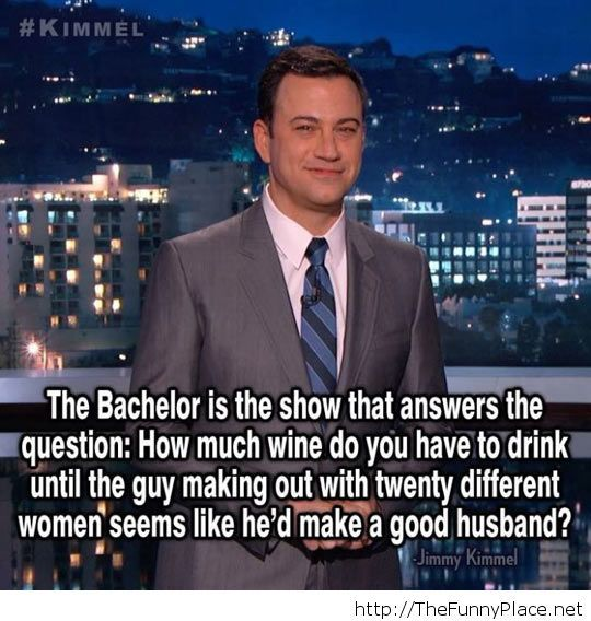 The Bachelor explained...