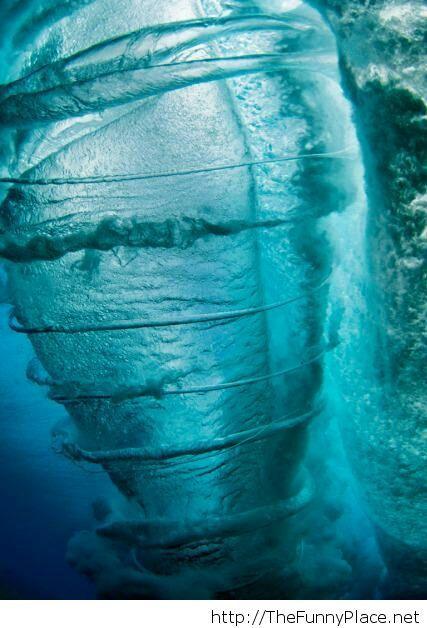 Underwater cyclone