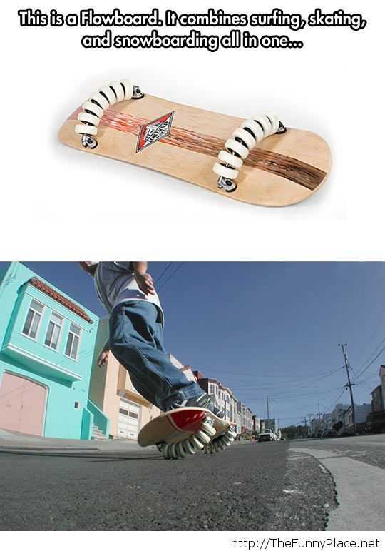 A new type of skateboard