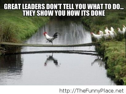 About great leaders