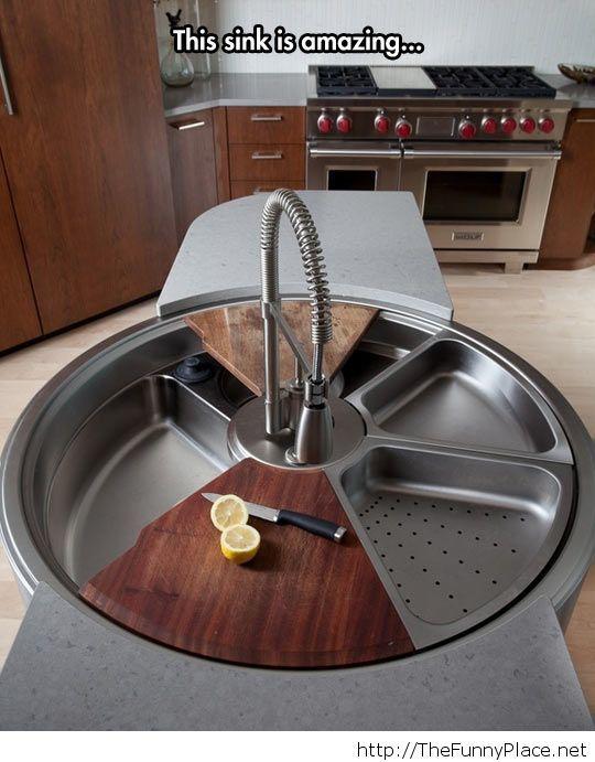 Amazing multifunctional sink