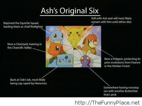 Ash's Original Six