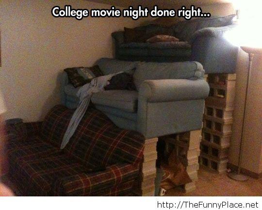College movie nights
