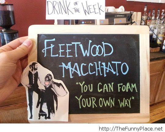 Comic drink of the week