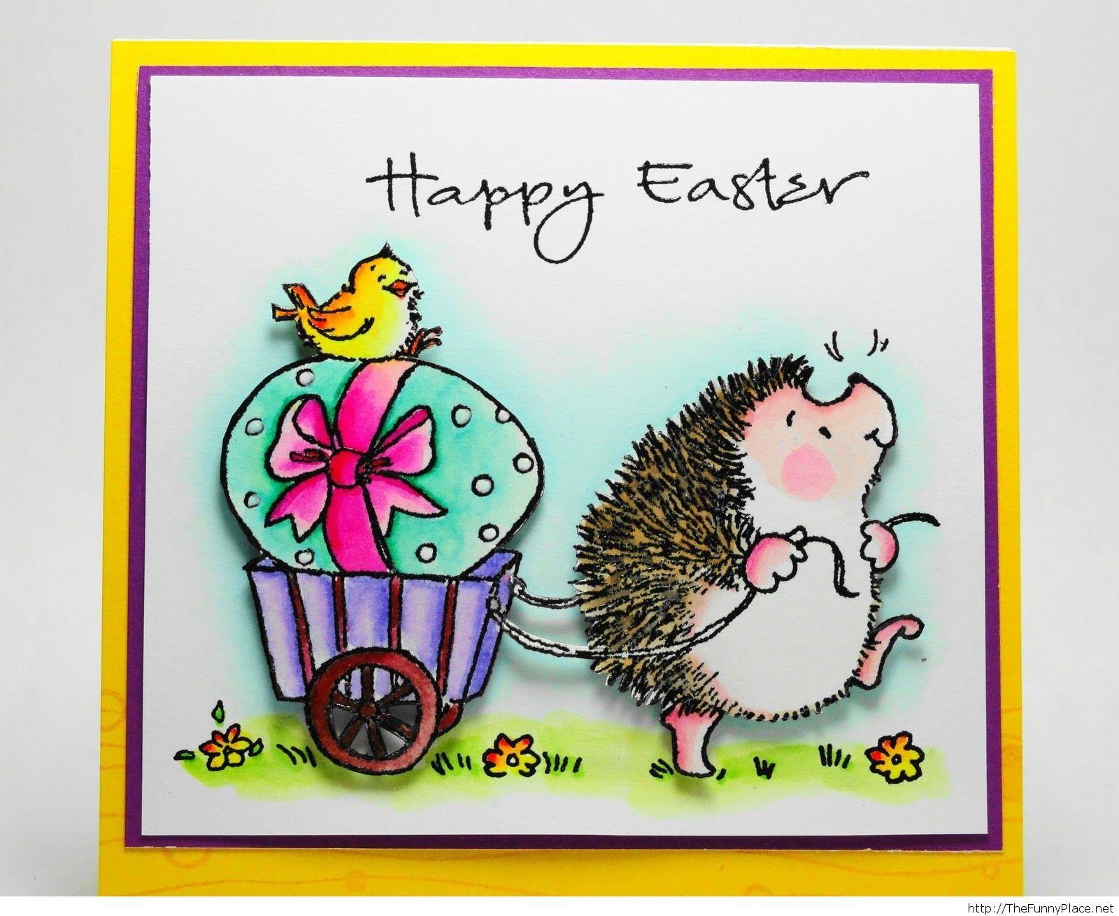 Happy Easter animals wallpaper
