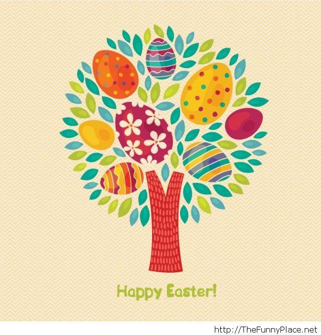 Happy Easter tree