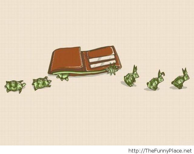 How my money seem to get away