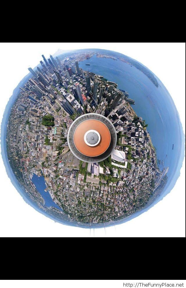 Incredible image of Seatle