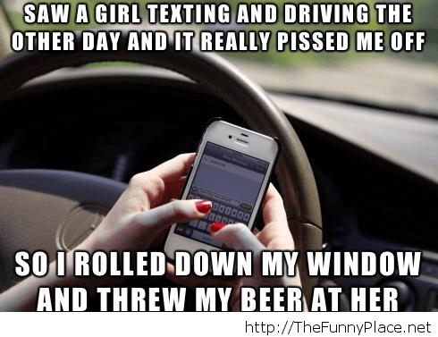 Irresponsible drivers