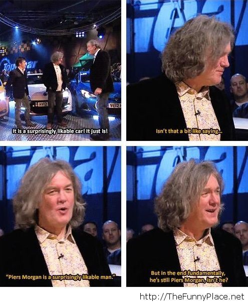James May has a point