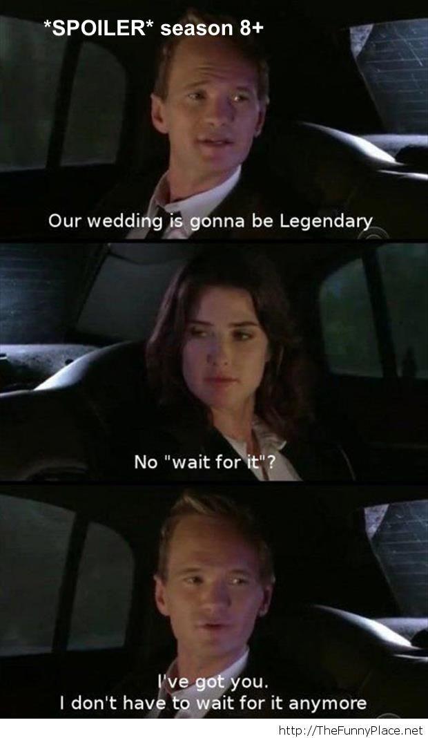 Legendary wedding