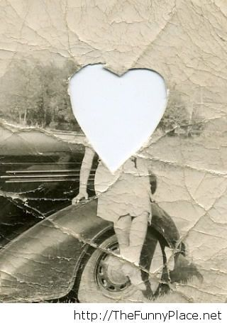 She lives in someone's locket...