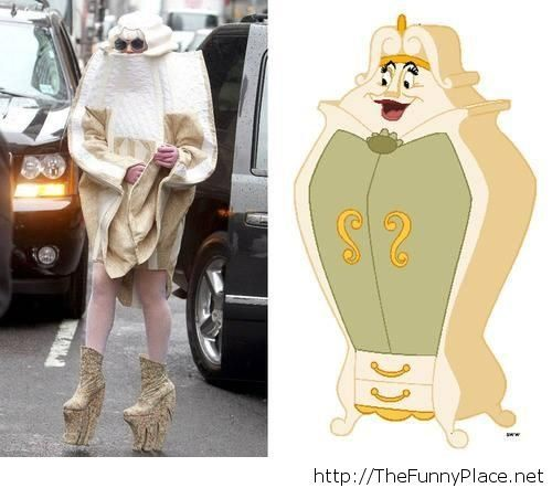 So similar, excepting the fact that the wardrobe could sing