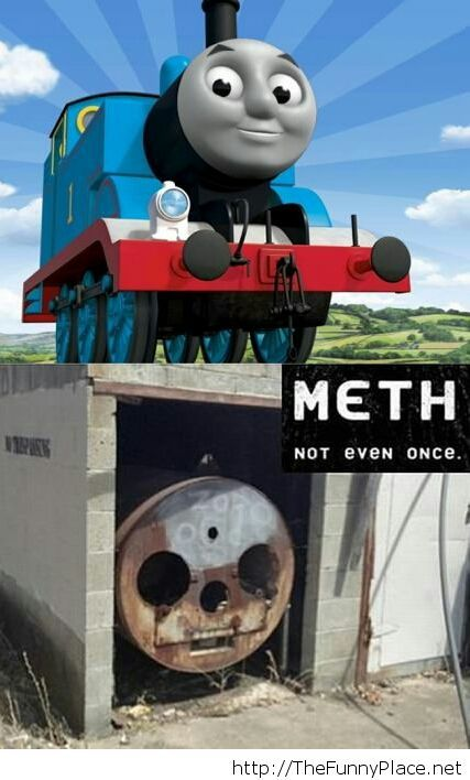 The face of meth