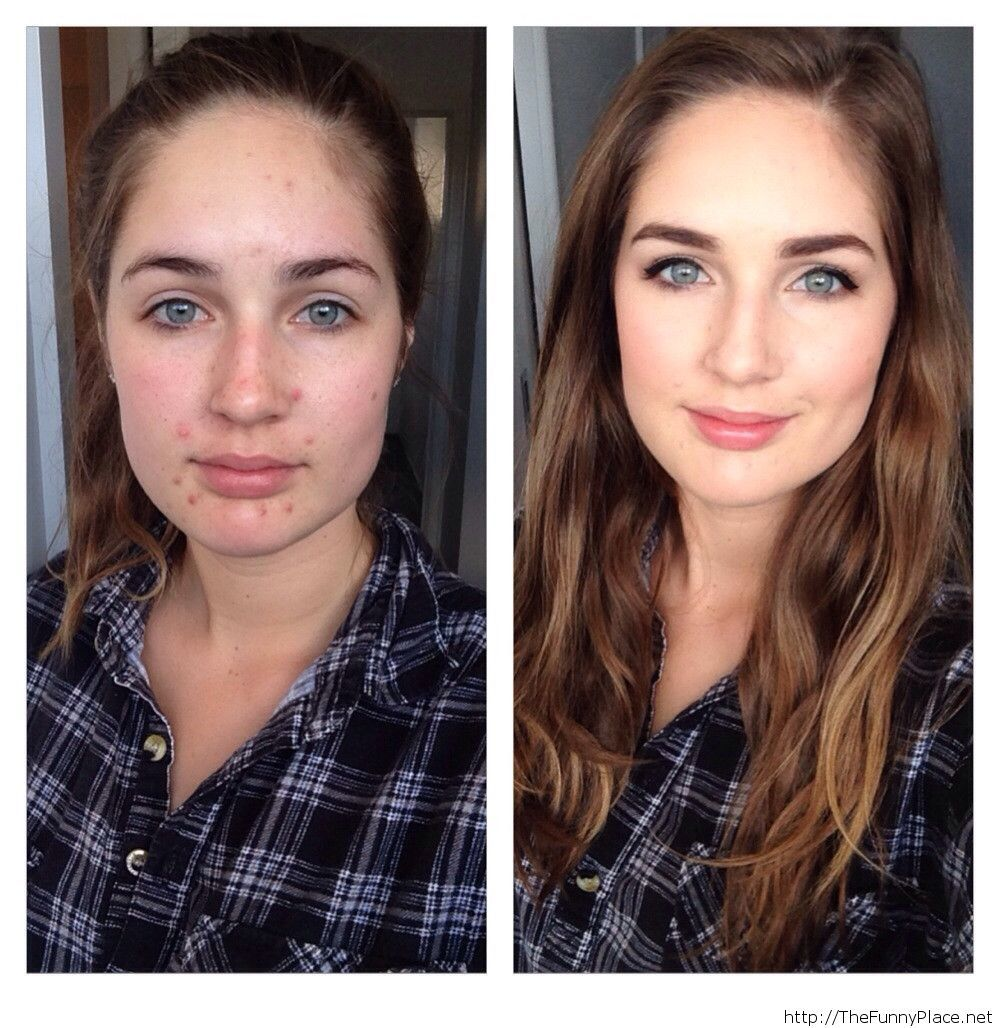 The miracles of makeup