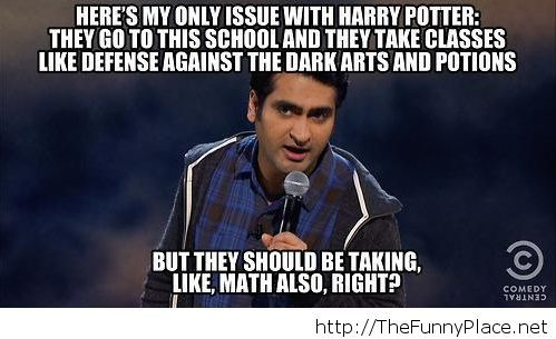 The only issue with Harry Potter