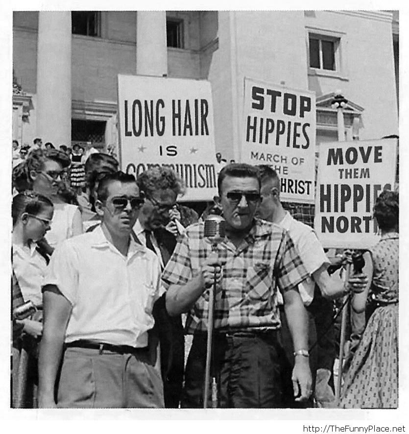 They have a serious problem with hippies