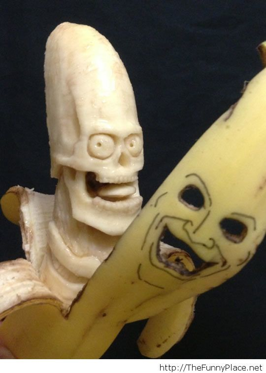 This picture is so bananas...