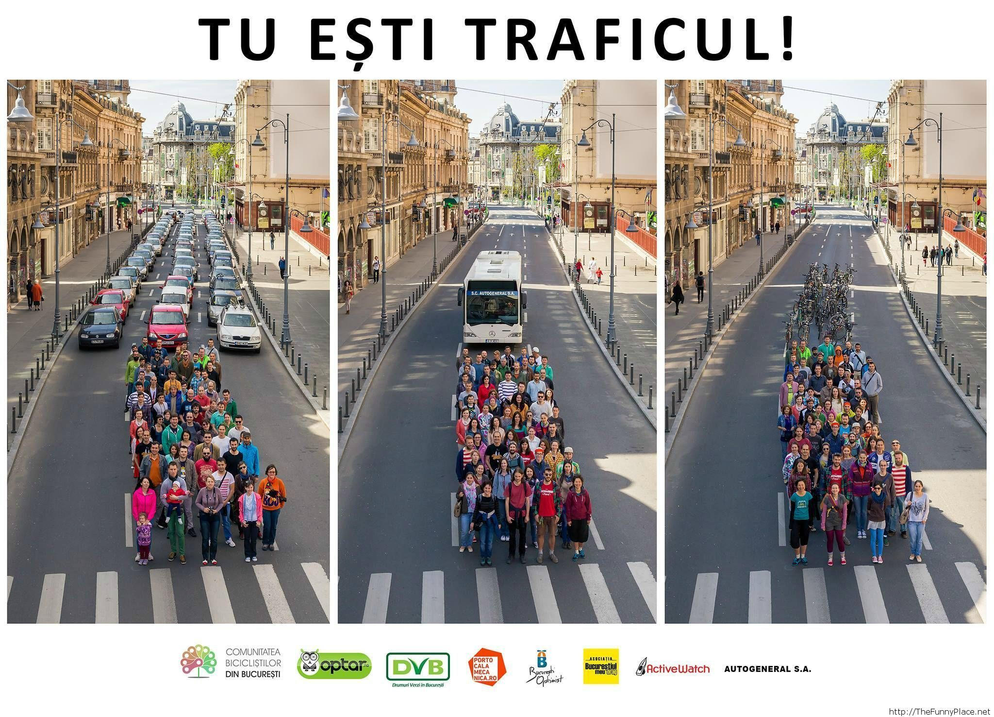 You are the traffic (Bucharest, Romania)