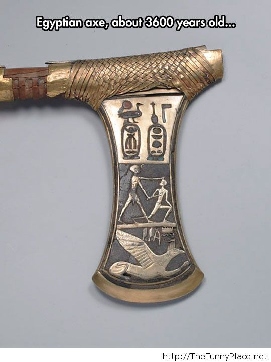 A ceremonial axe