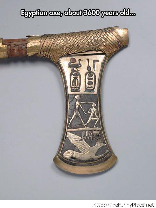 A ceremonial axe