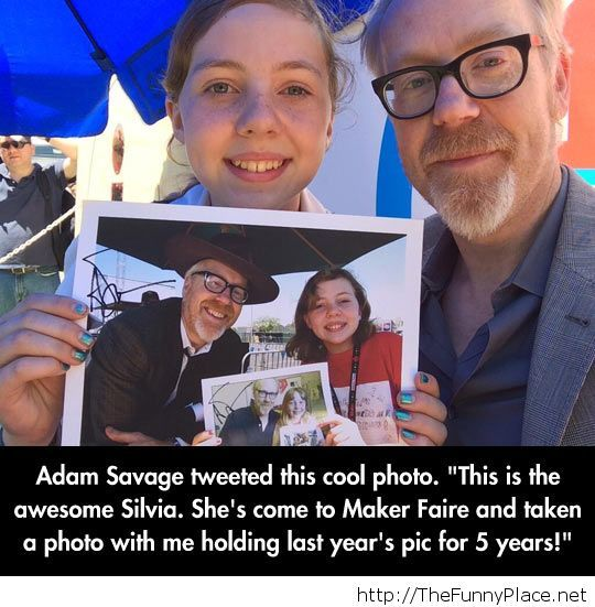 Adam Savage's biggest fan