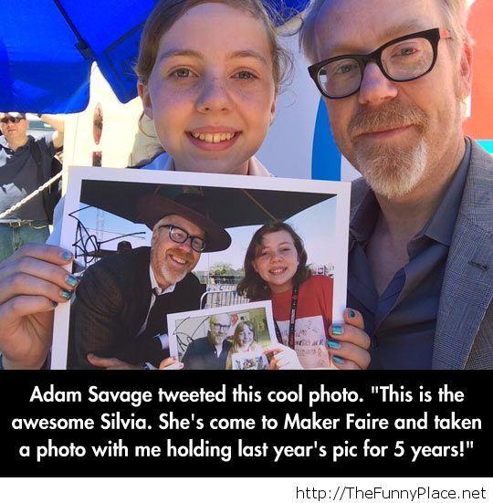 Adam Savage's biggest fan