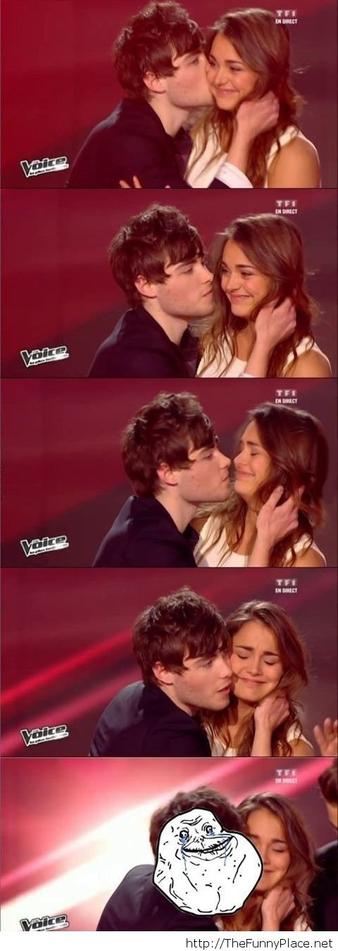 Epic fail kiss…