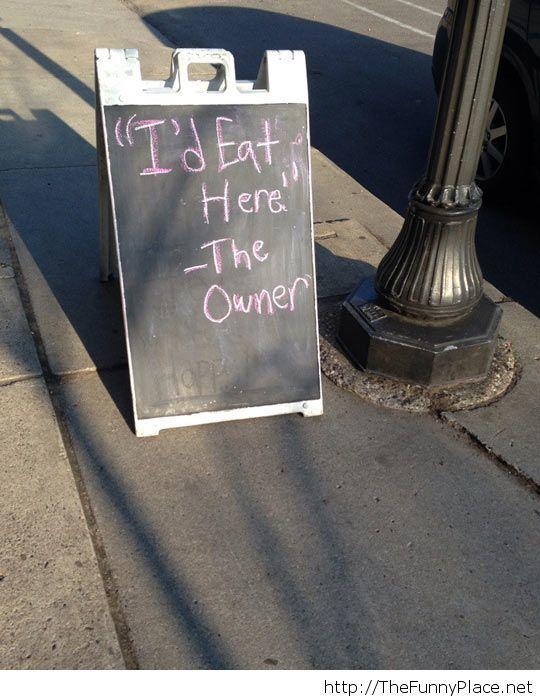 He is honest
