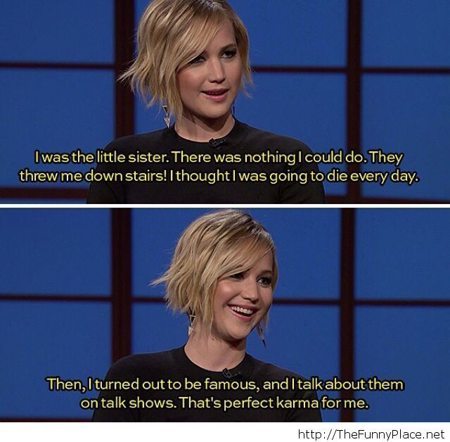Jennifer Lawrence funny quote