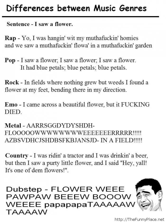 Music differences