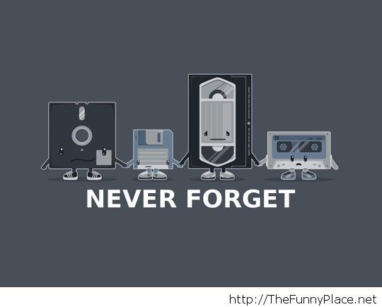 RIP Old Technology