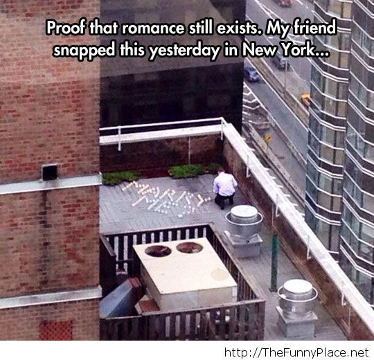 Romance is out there