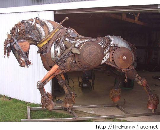 Scrap Metal Stallion