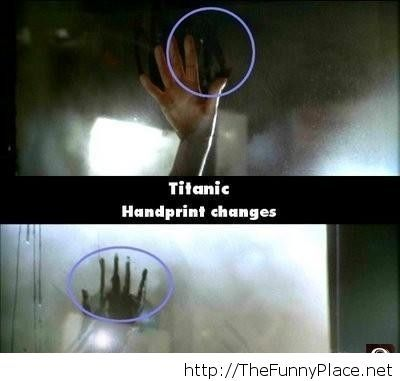 Titanic Mistakes