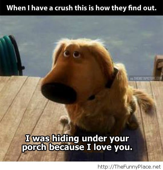 When I have a crush