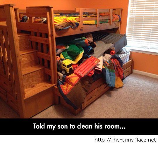 You did a good job, son...