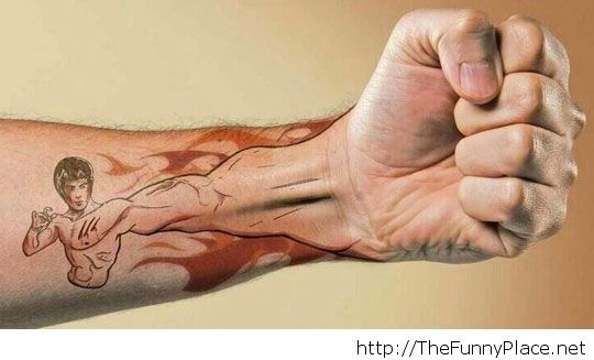 Bruce Lee Tattoo