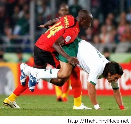 Funny football moment picture
