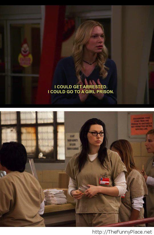 Girl prison saying