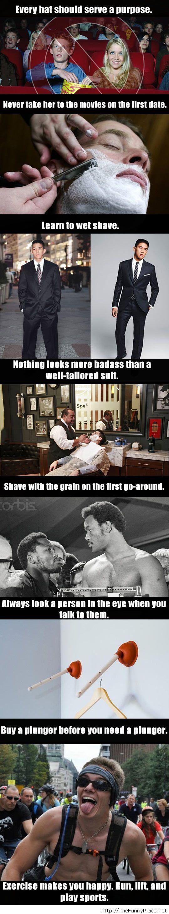 Great tips for men