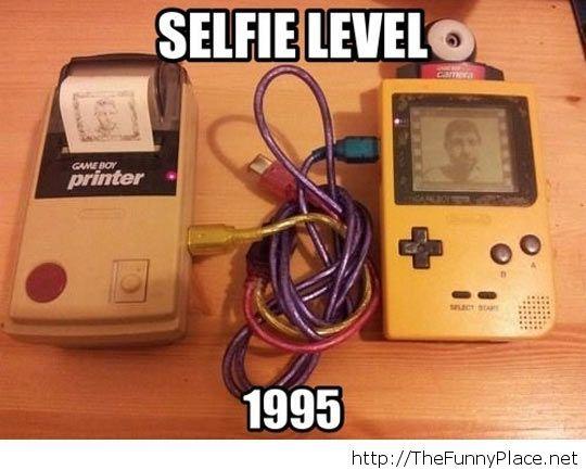 Old selfies