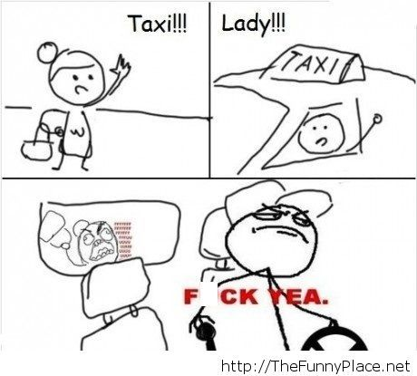 Taxi-lady