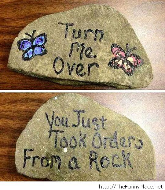 The Rock has spoken