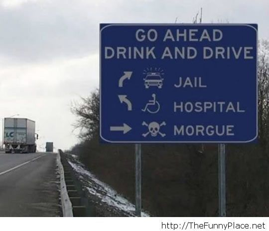 True road sign