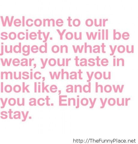 Welcome to our society