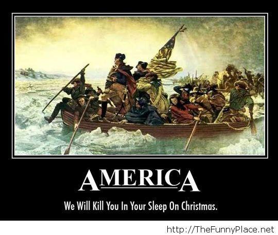 America painting saying