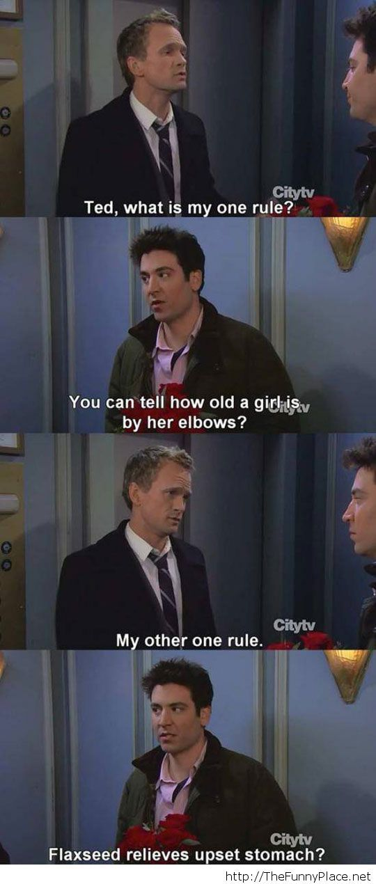Barney's first rule