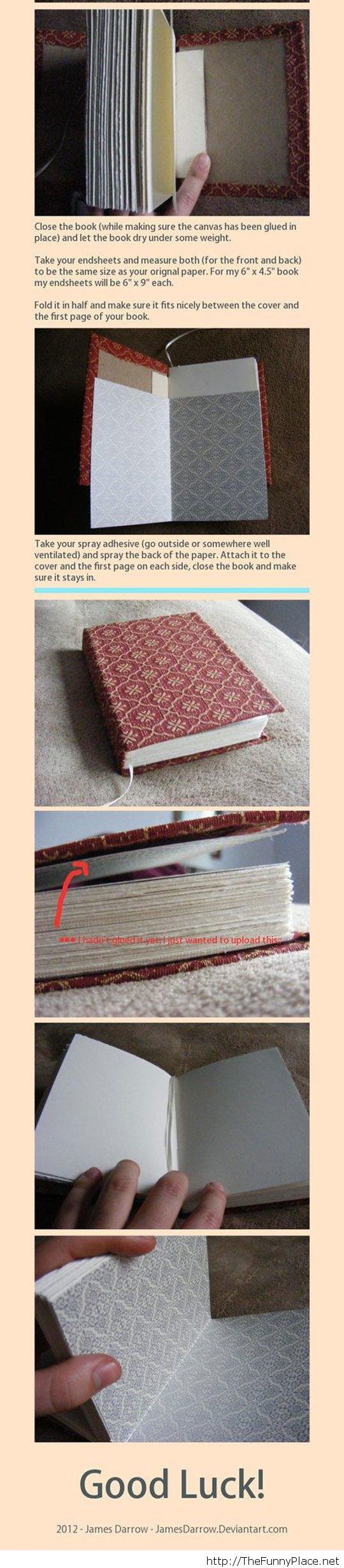 Bookbinding Tutorial Live